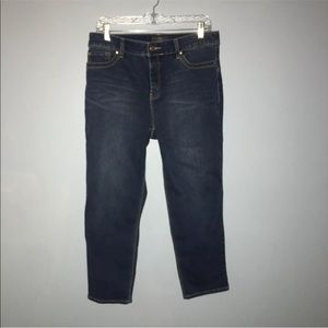 So Lifting By Chico's  Womens sz 1 Blue Crop Pants